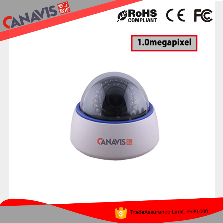 China manufacturer surveilance cctv cameras ahd metal dome infrared 720p
