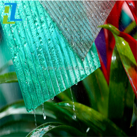 Bayer raw material Hollow UV protected greenhouse plastic solid polycarbonate sheet/greenhouse hollowSheet used in Greenhouse