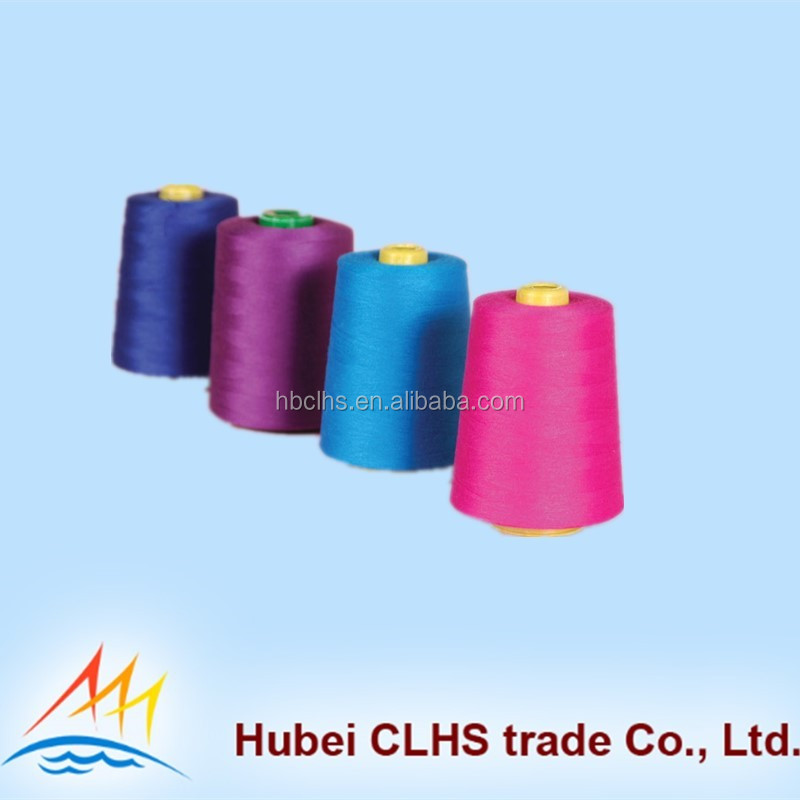 High Tenacity 20s/2 20s/3 Polyester Thread for Bags Closing
