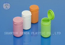 snap secure easy-pulling lid medicine plastic bottle, capsule pill bottle,Plastic Pill Container