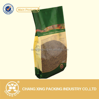 Custom manufactured nylon compound side gusset tea bag