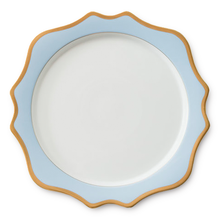 High quality cheap bulk gold rim ceramic dinner plates