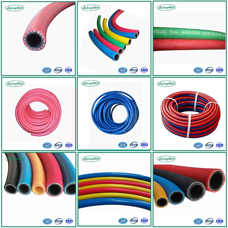colorful high quality oxygen and acetylene hose