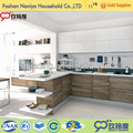 Utility cabinet, utensal cabinet, high gloss kitchen cabinet with wood door
