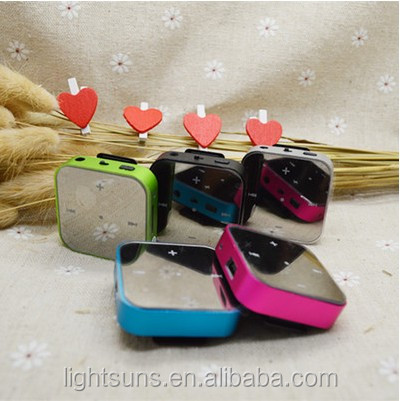 Fashion Design mirror Mini Clip <strong>MP3</strong> Player, <strong>MP3</strong> with Retail Package