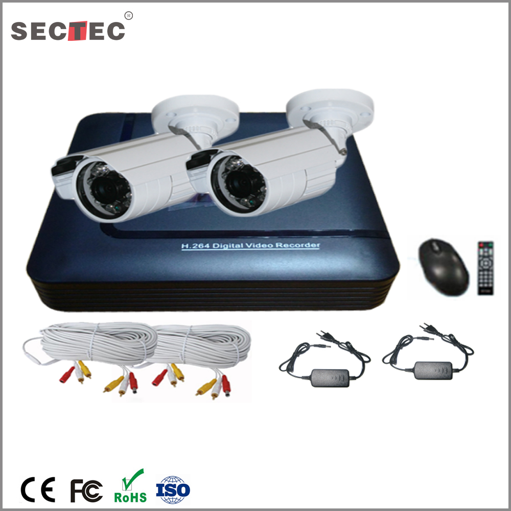 2016 hot selling item waterproof security cameras 1.3MP 960P mini 4ch AHD dvr h 264 cctv kit