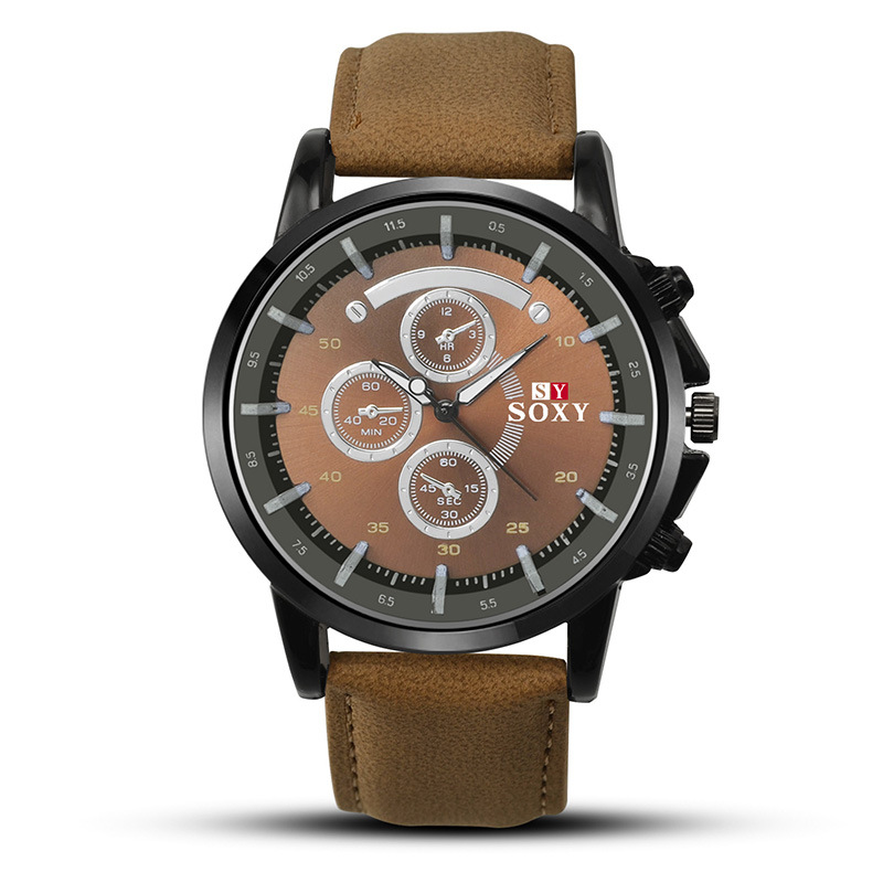 Wholesale Quartz Watches High quality Brand SOXY watch Fashion & Casual Elegant leather strap latest eatches for <strong>men</strong> or women