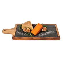 Look Tasting Decorative Slate Stone Wooden Serving Plate