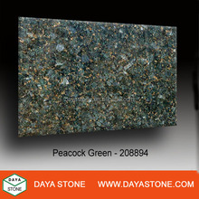 Peacock Green Granite with Top Quality