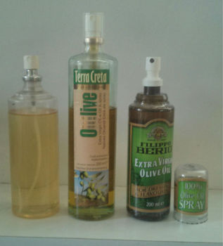 COOKING OIL SPRAY BOTTLE - PLASTIC