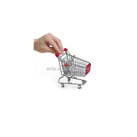 Mini Supermarket Handcart Shopping Cart Toy
