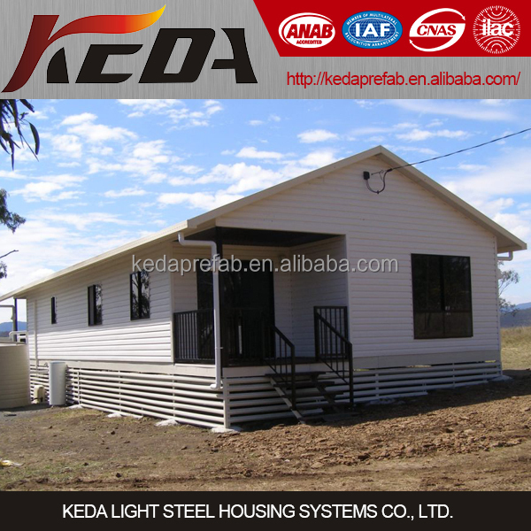 Light Steel Villa, Steel Frame Cheap Modern Luxury Prefab Modular Cottage Home