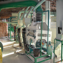 corn peeling and grits making machine/maize flour mill