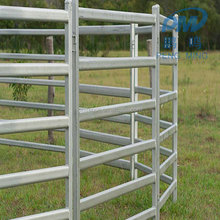 Heavy duty portable hot dipped galvanized pipe used horse corral panels