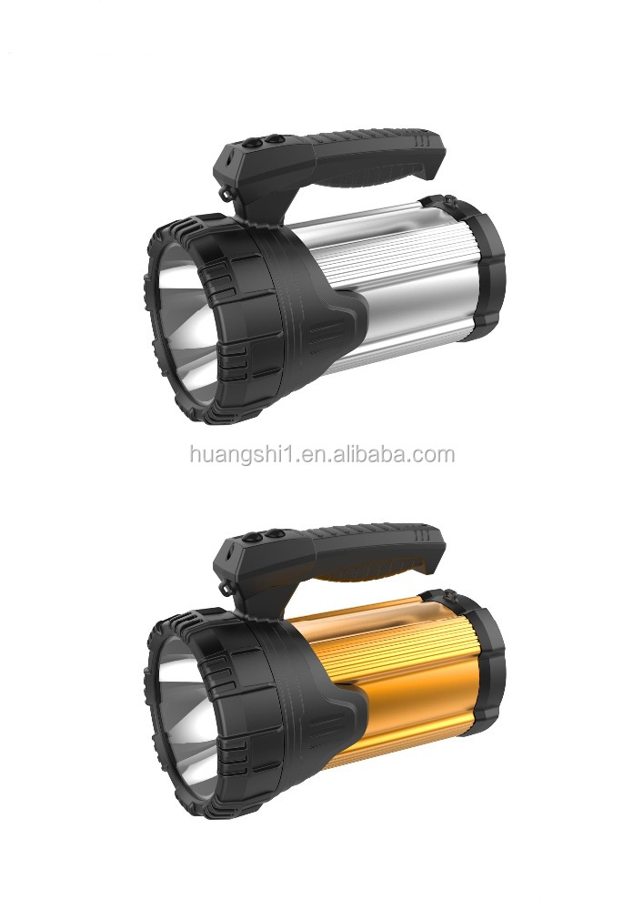 night vision 10W led torch flashlight with USB output function from china supplier