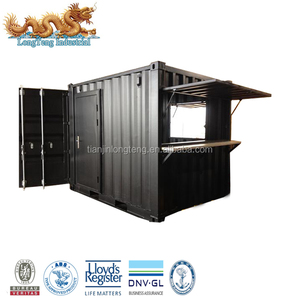 Mobile Pop Up 8ft 10 foot Shipping Container Coffee Shop for Sale