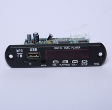 Manufactory and good price JR-P002A user MP5 digital player manual with LED display curcuit board