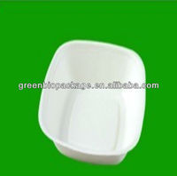 Biodegradable Sugarcane Pulp Salad Bowl