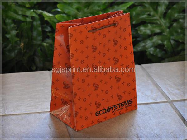Art Paper Bags With Full Color Printing