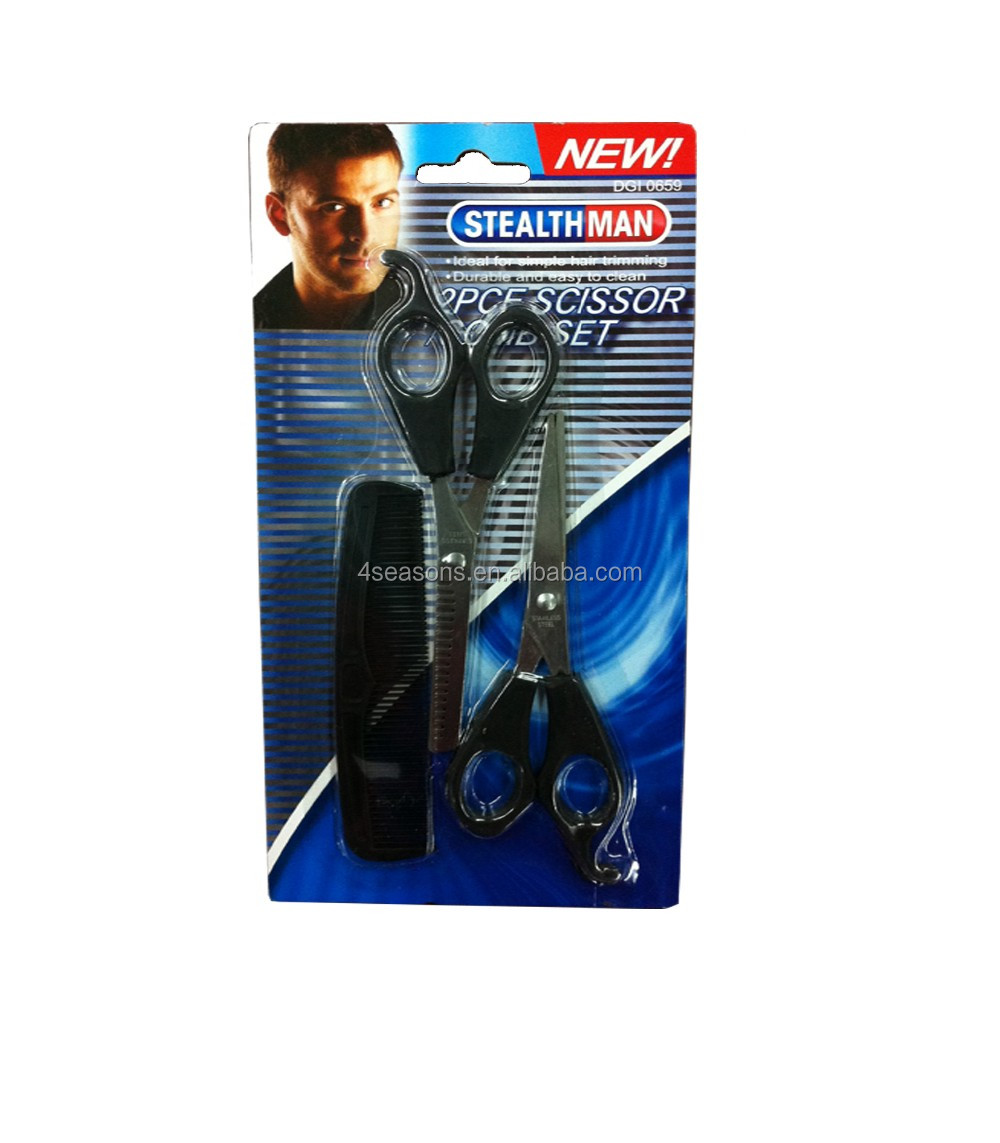 3 in 1 Travel Use Scissor Comb Tool Set