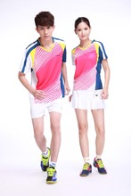 new style Professional customized ,Badminton wear shirt WS-16211