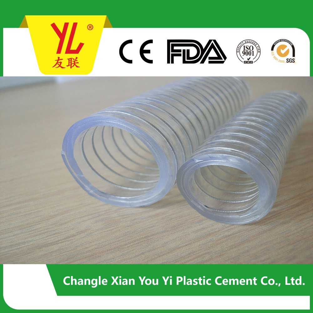 pvc spiral steel wire pipe