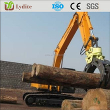 hydraulic wood grapple different design suit for different brand of excavator