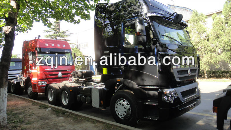 SINOTRUK HOWO T7 MAN D20 engine tractor head 310HP-440HP light model