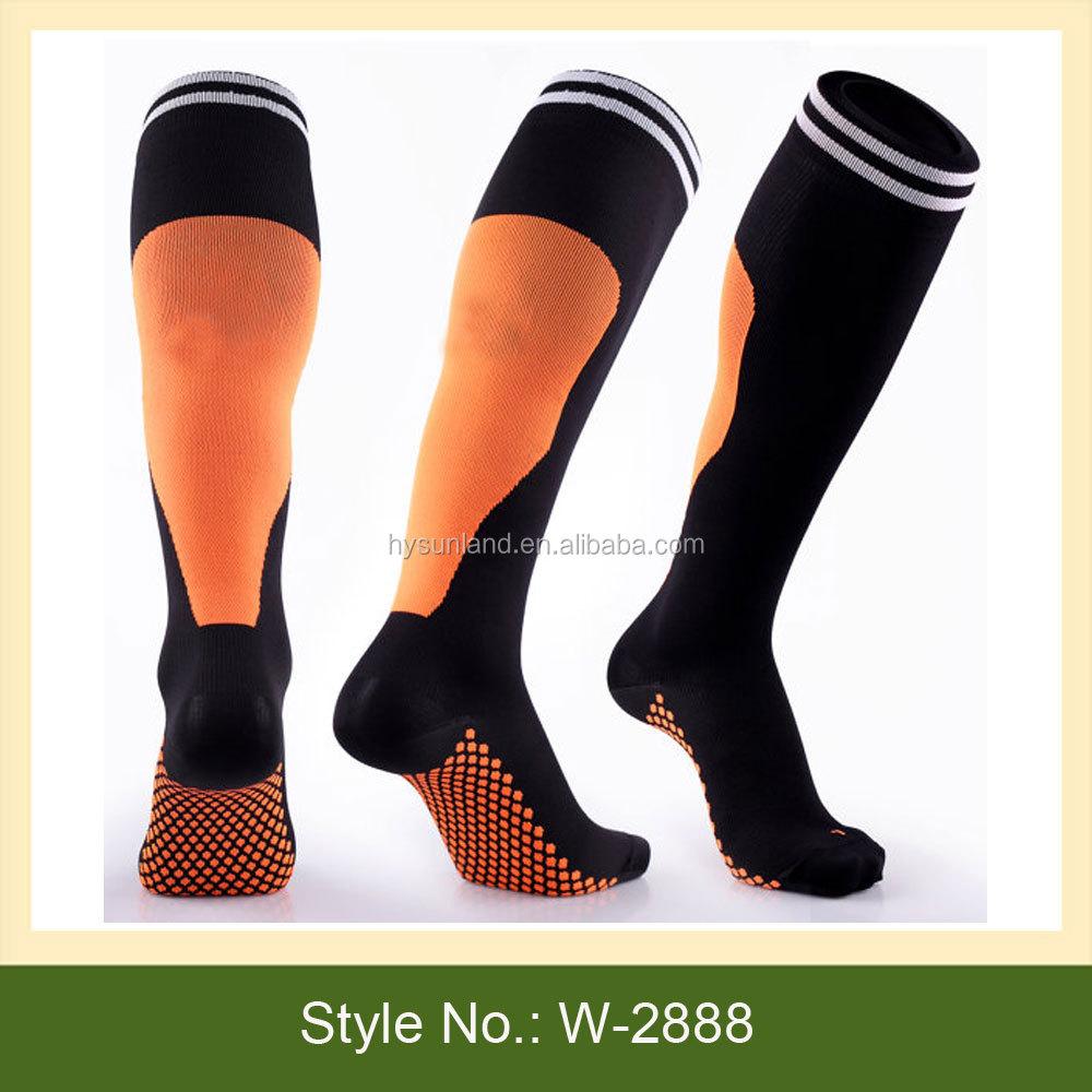W-2888 Men Football Sports Socks New Design Football Socks ...
