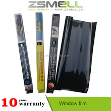 Zsmell car window tint film black insulation solar charge controller heat reflective solar control window films