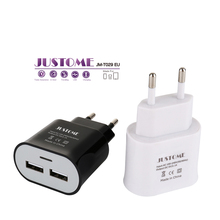 JUSTOME Factory competitive price New product Mobile phone accessories Wall Charger usb wall Charger EU plug for Mobile phone