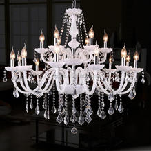 White chandelier contemporary/contemporary chanderlier pendant light