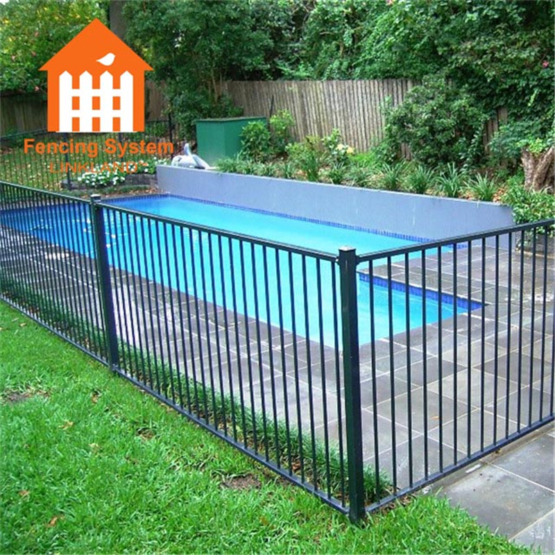 barriere swimming pool used colorbond cast iron fence metal fence