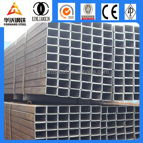 ms square tube size 2mm wall thickness steel pipe
