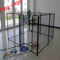 High Quality Galvanized Pet Cages Fancy Dog Kennel