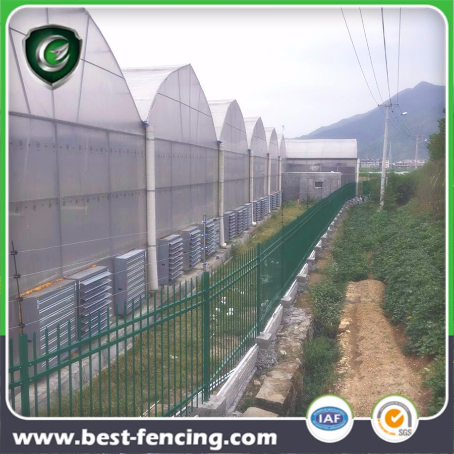 High Security Electrified Metal Garrison Fence Panel
