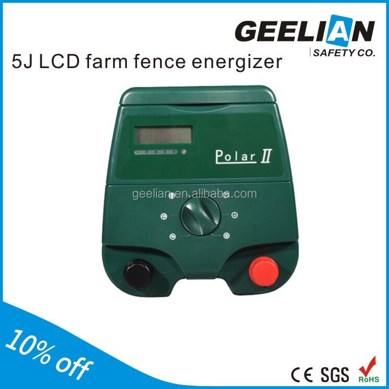 12KV high voltage electric horses solar fencing energizer for Australia