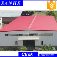 Chinese Good Price Prefab Steel Structure Storehouse/Depot