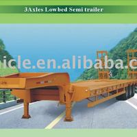 Low Bed Semi Trailer Used For