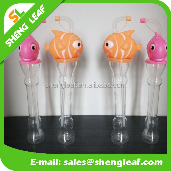 Customize Popular Drinking Bottles Fish Shape Water Bottle