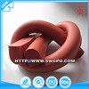 Customized products extrusion heat resistant silicone rubber bumper strip