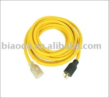 American type indoor extension cord,UL power cable, 3 pin power cord