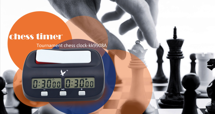 Electronic promotional cheap tournament chess digital clock