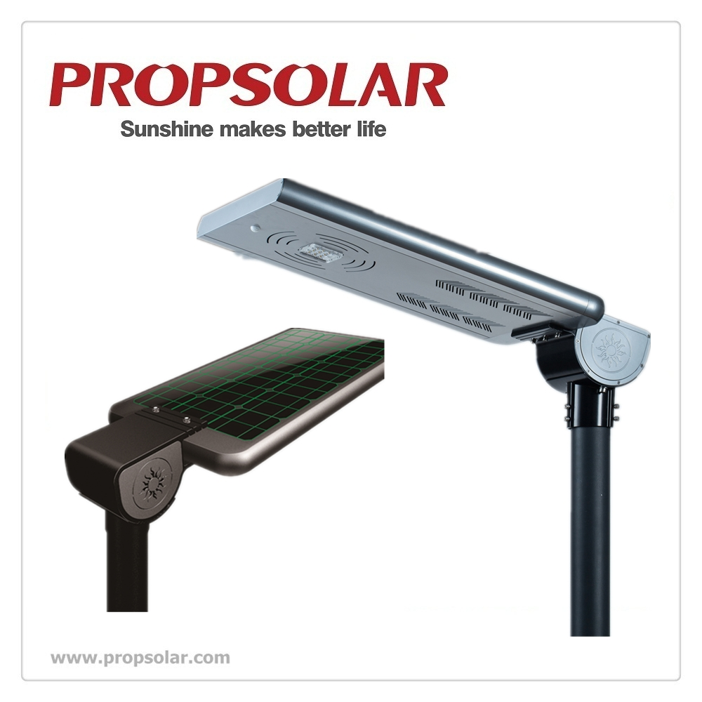 15W All in one integrated Solar Power Led Street Light with Best Quality