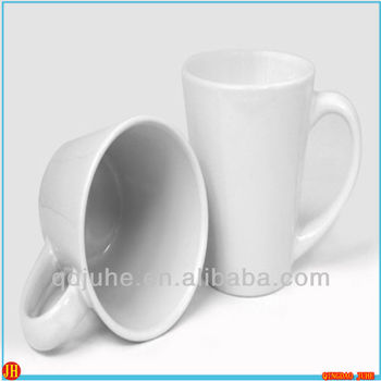 V shape mug for sublimation latte mug