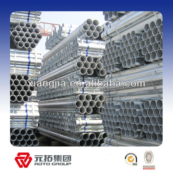 BS1139 hot dip galvanized metal scaffolding tube,Hot Dipped Galvanized Hollow Steel Scaffolding Tubes With 20ft
