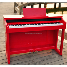 OEM accept upright red electric piano digital for practicing