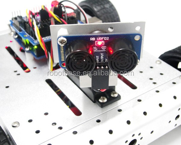 RB-13K056-4WD Detection and Avoidance Robot Kit(4)