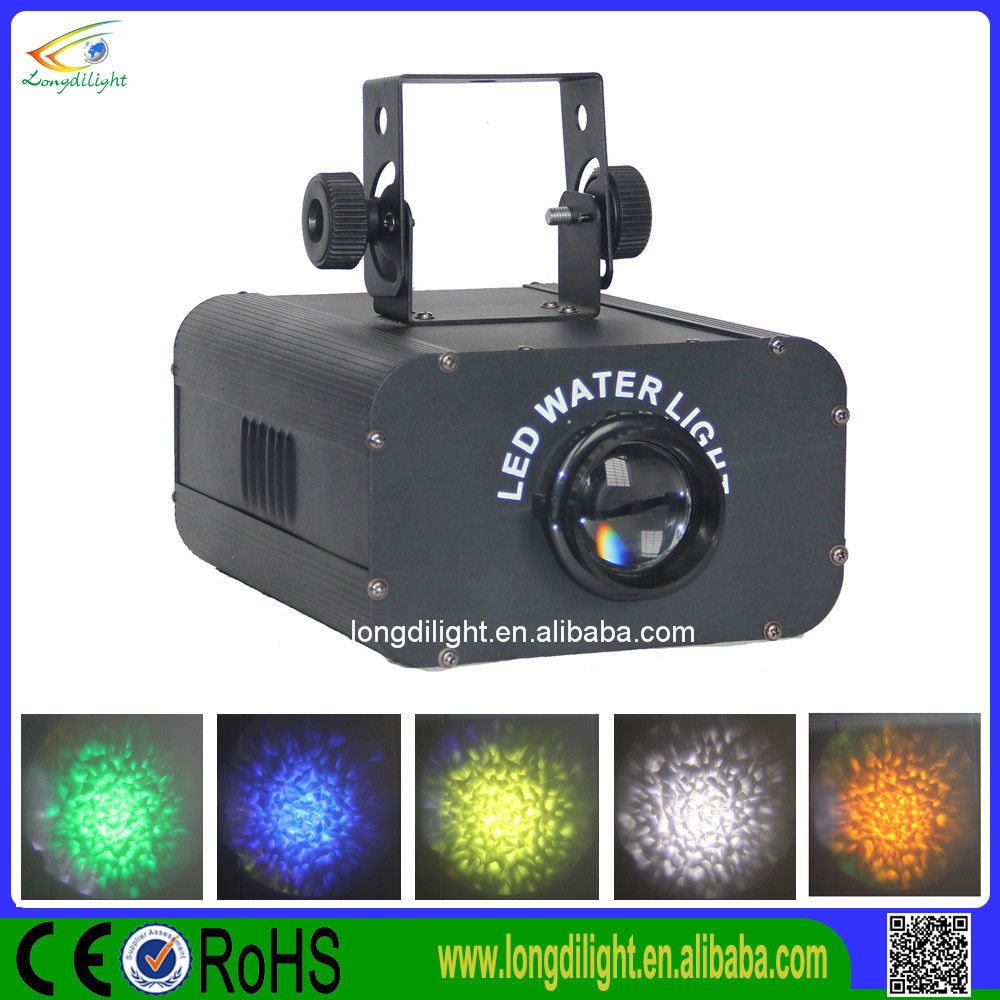 White Lighting LED Water Wave Effect Stage Light For Party New Year Christmas