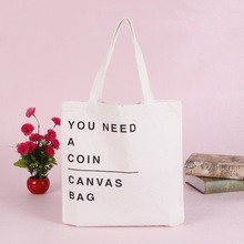 Wholesale Hot Selling Standard Size Custom Printed Tote Handbag Shopping Bags Cotton Canvas Bag